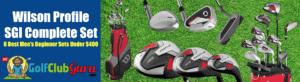 wilson profile sgi complete set review men beginner newbie new golfer