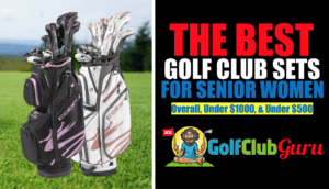 super lightweight forgiving golf clubs for senior women golfers