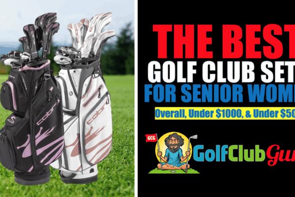 super lightweight forgiving golf clubs for senior women golfers