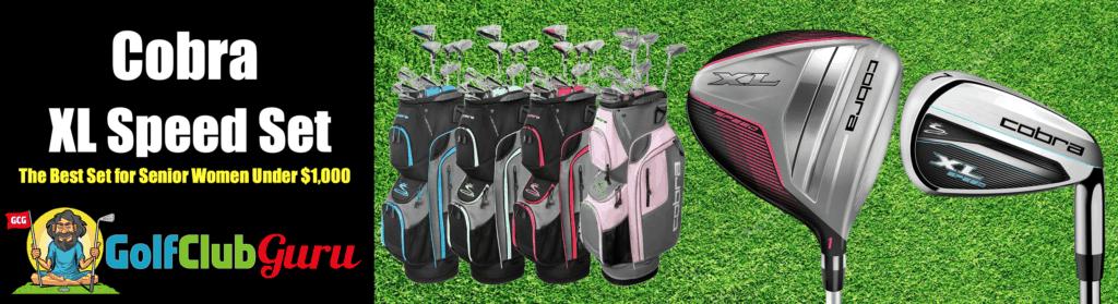 best golf clubs for old women short tall