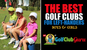 the best left handed golf club sets for kids boys girls juniors