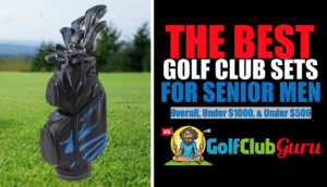 the best complete golf club sets for senior men