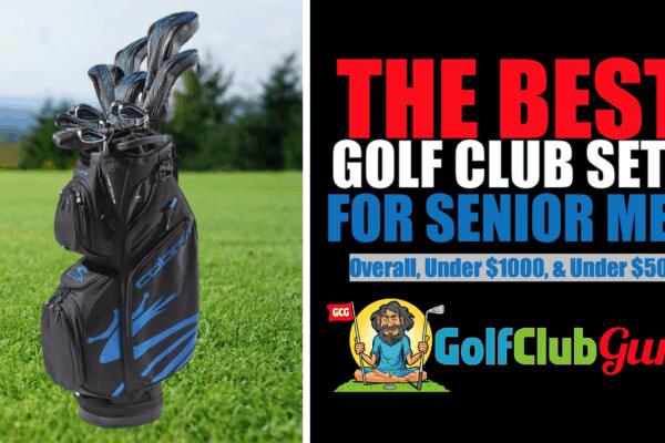 the best complete golf club sets for senior men