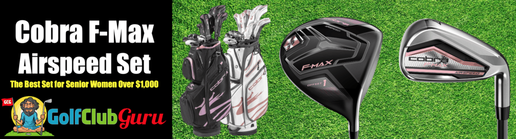cobra f-max airspeed womens golf club set review 2020 pros cons price pictures