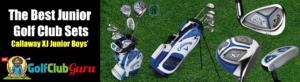 callaway xj junior golf club set boy girl kid child