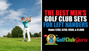the longest most forgiving golf clubs for lefties