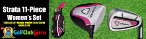 the best value left handed womens golf clubs for beginners