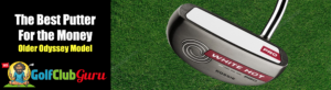 the best value putter for the money golf odyssey white hot pro