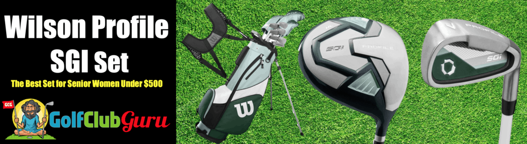 best bargain for the money golf clubs for older women