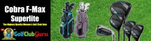 cobra f-max fmax superlite airspeed womens golf clubs