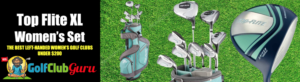 the best left handed golf clubs for women for the money