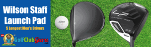 wilson staff launch pad driver offset long