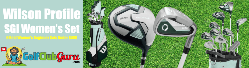 the highest launch lowest spin complete set women ladies wilson profile