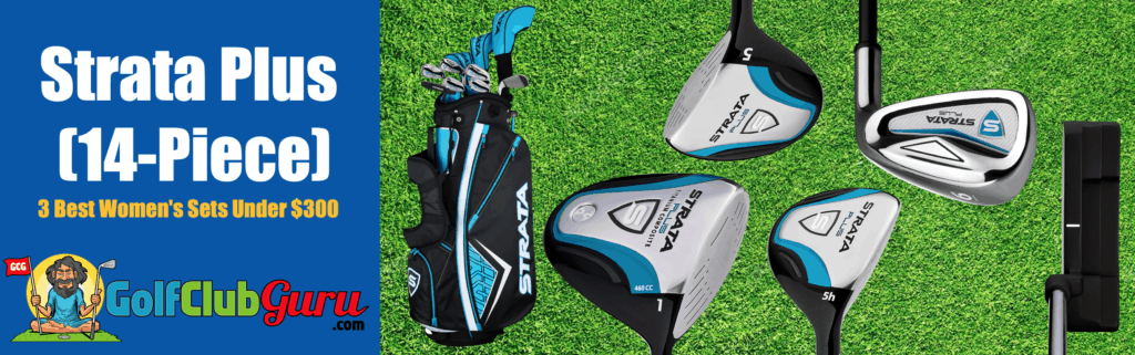 the best value full set golf clubs for ladies women under $300