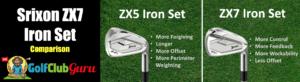 srixon zx7 iron set comparison zx5