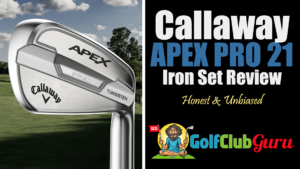 callaway apex pro 21 iron set review appearance performance test