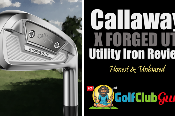 Callaway x forged ut utility iron review
