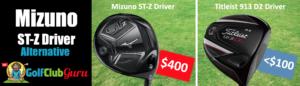 Mizuno st-z driver vs titleist 913 d2 comparison
