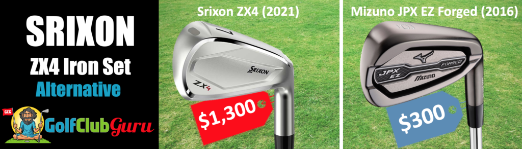 srixon zx4 alternative irons