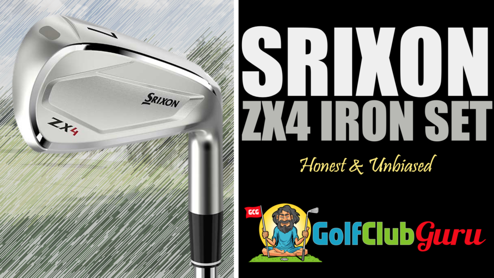 honest review of srixon zx4 iron set 2021