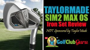 taylormade sim2 max os iron set review 2021