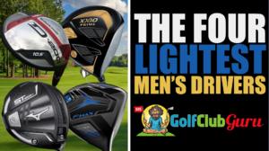 the lightest men's drivers golf