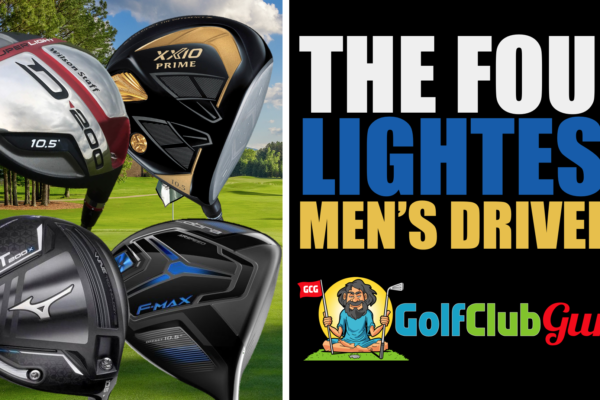 the lightest men's drivers golf