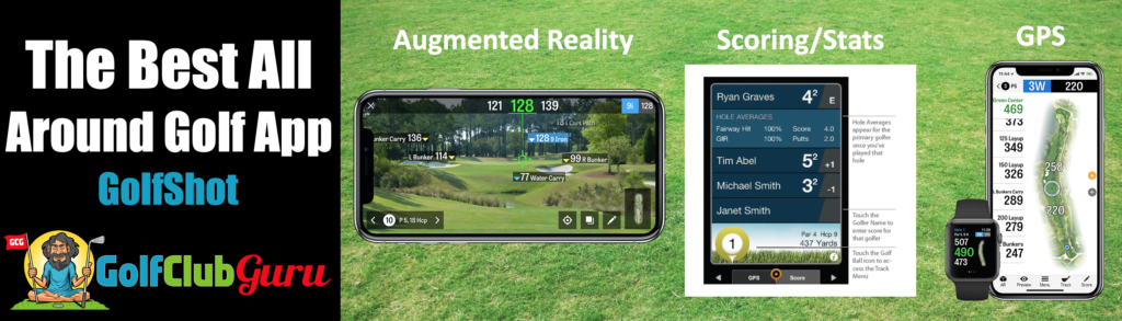 the best golf app golfshot review