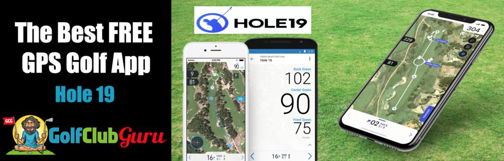 hole 19 golf app gps