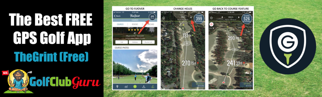 the best free gps golf phone app iphone android