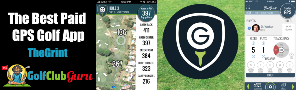 thegrint vs golfshot app difference comparison