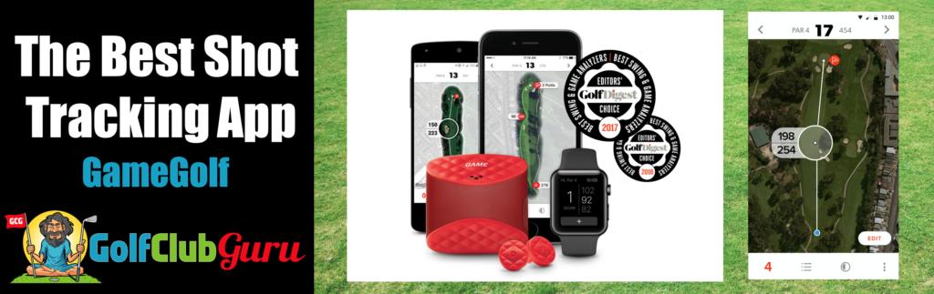 the best shot tracking golf app gamegolf game golf