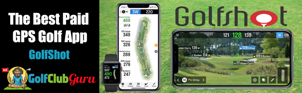 the best gps for golf distances iphone android golfshot review pros cons price