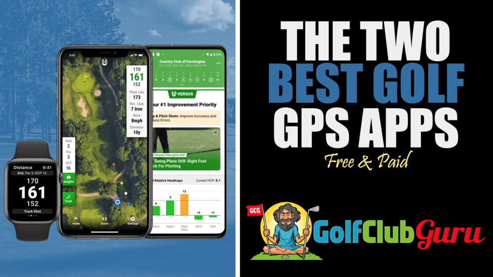 the best golf gps apps free paid premium iphone android