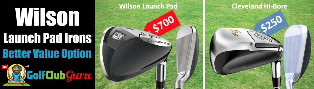 wilson launch pad vs cleveland launcher hi-bore comparison difference