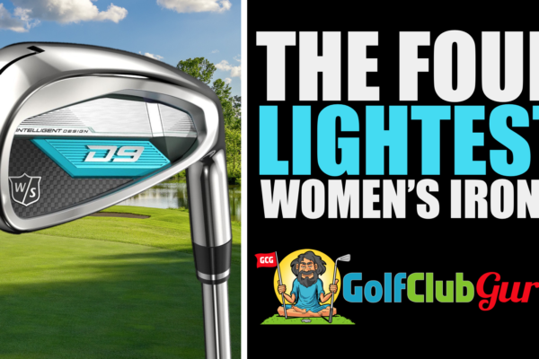 what's the lightest golf clubs irons for women senior golfers