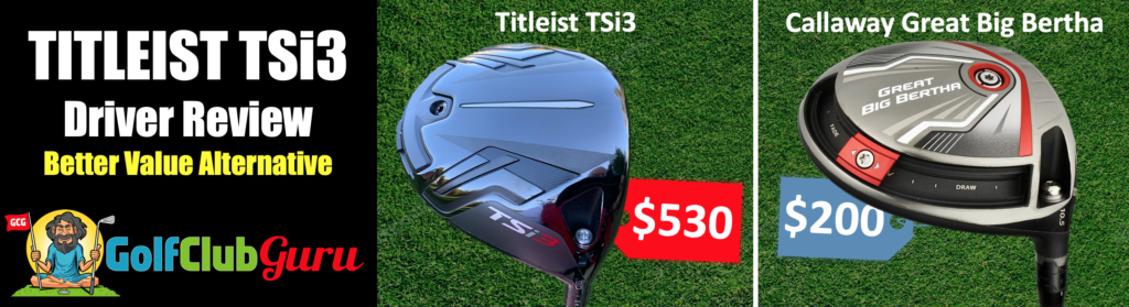 review of titleist tsi3 alternative option driver