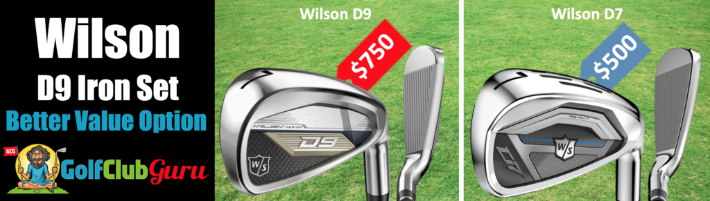 wilson d7 or d9 irons which is better difference