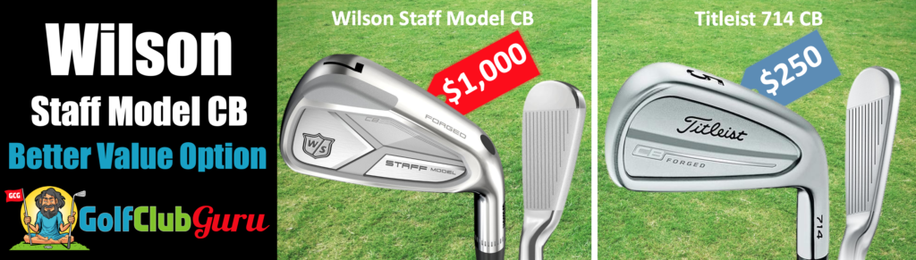 the best value forged players irons cb cavity back