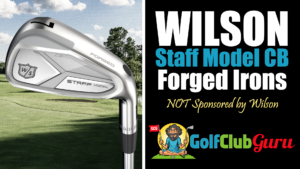 the wilson staff model cb forged iron set review 2021