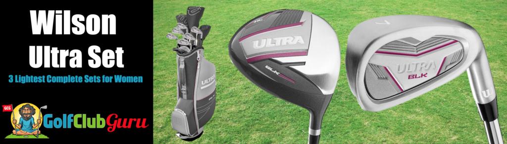 best set of golf clubs for senior women weak old