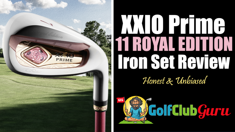 xxio ladies prime eleven royal edition irons review 2021