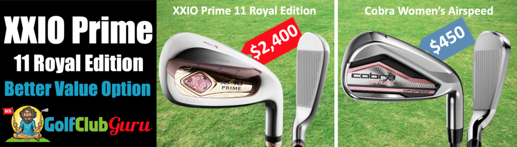xxio womens 11 prime royal edition irons review