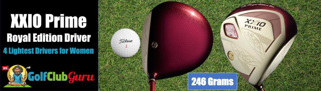xxio best brand for lightweight golf clubs for women driver