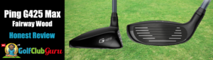 club face sole of Ping G425