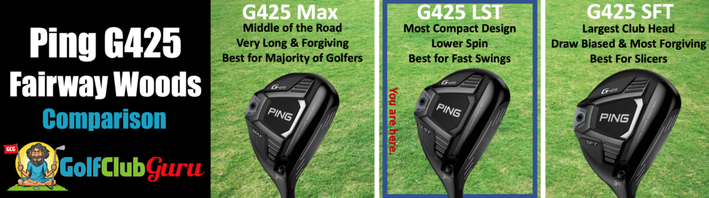 ping g425 max sft lst difference comparison