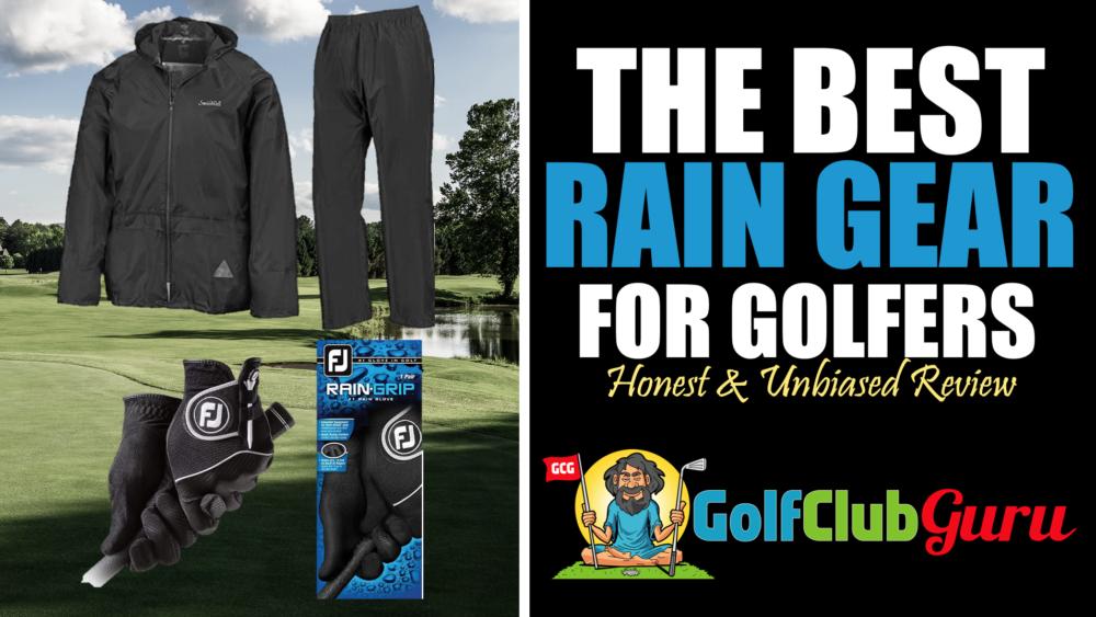 the best mens golf rain gear 2021