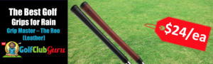 the best tacky sticky leather golf grips grip master the roo kangaroo