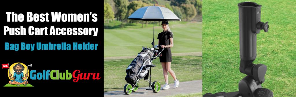 umbrella holder for golf push cart women