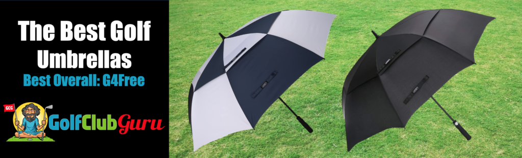the best overall golf umbrella durable rain wind large oversized